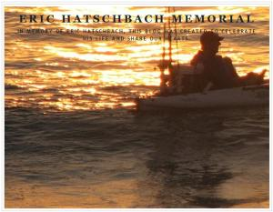 Eric Hatschbach Memorial