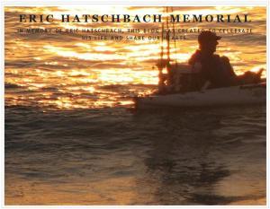 Eric Hatschbach Memorial