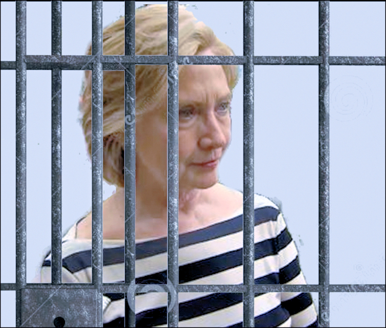Image result for hillary prison bars